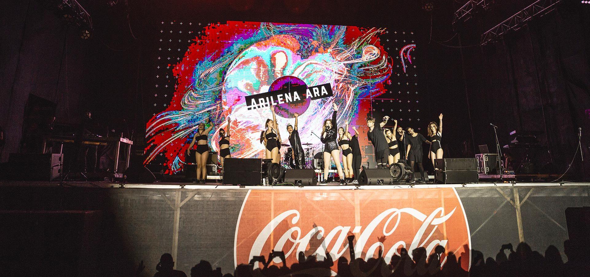 Arilena Ara ne Coca-Cola Summer Fest 2018