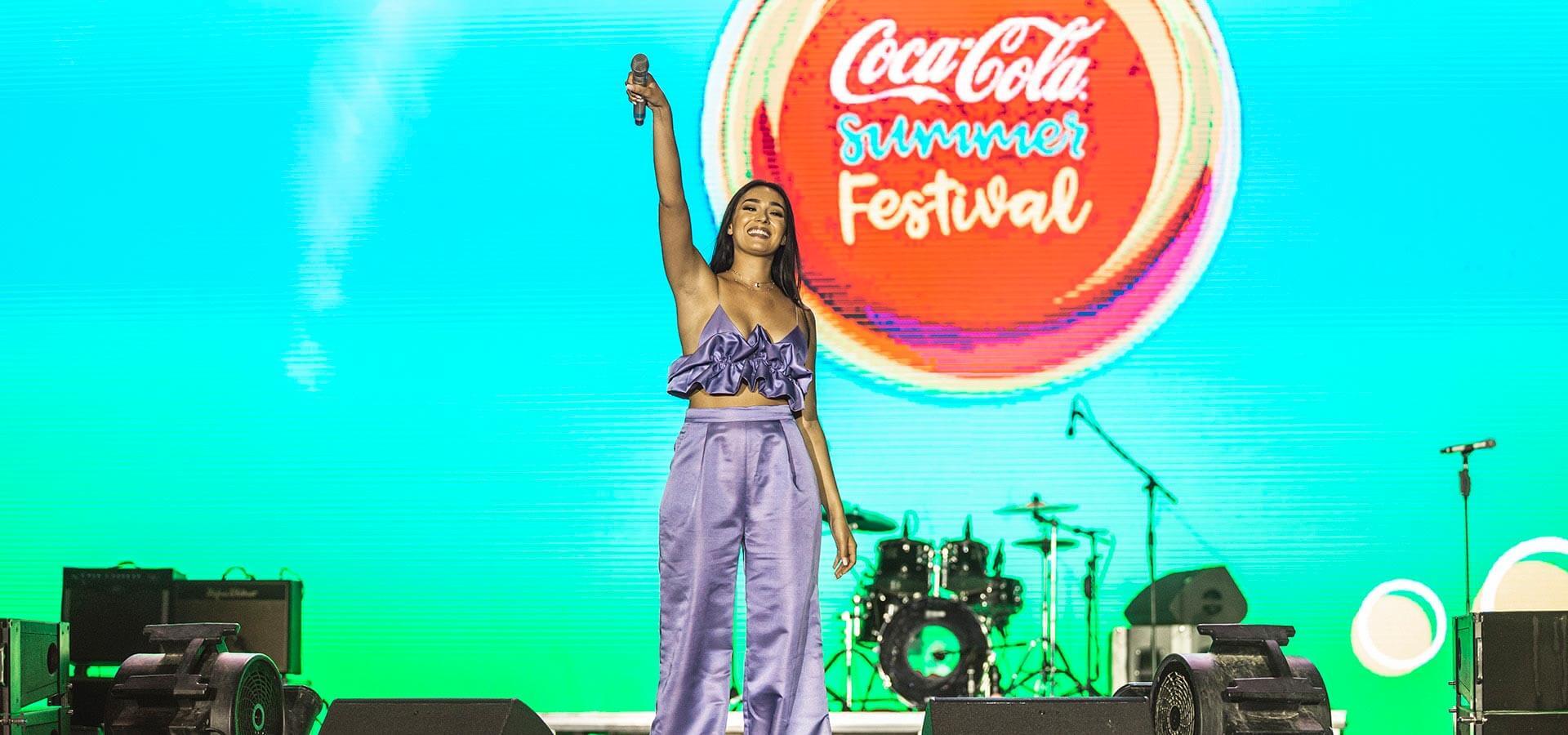 Klea Huta ne Coca-Cola Summer Fest 2018