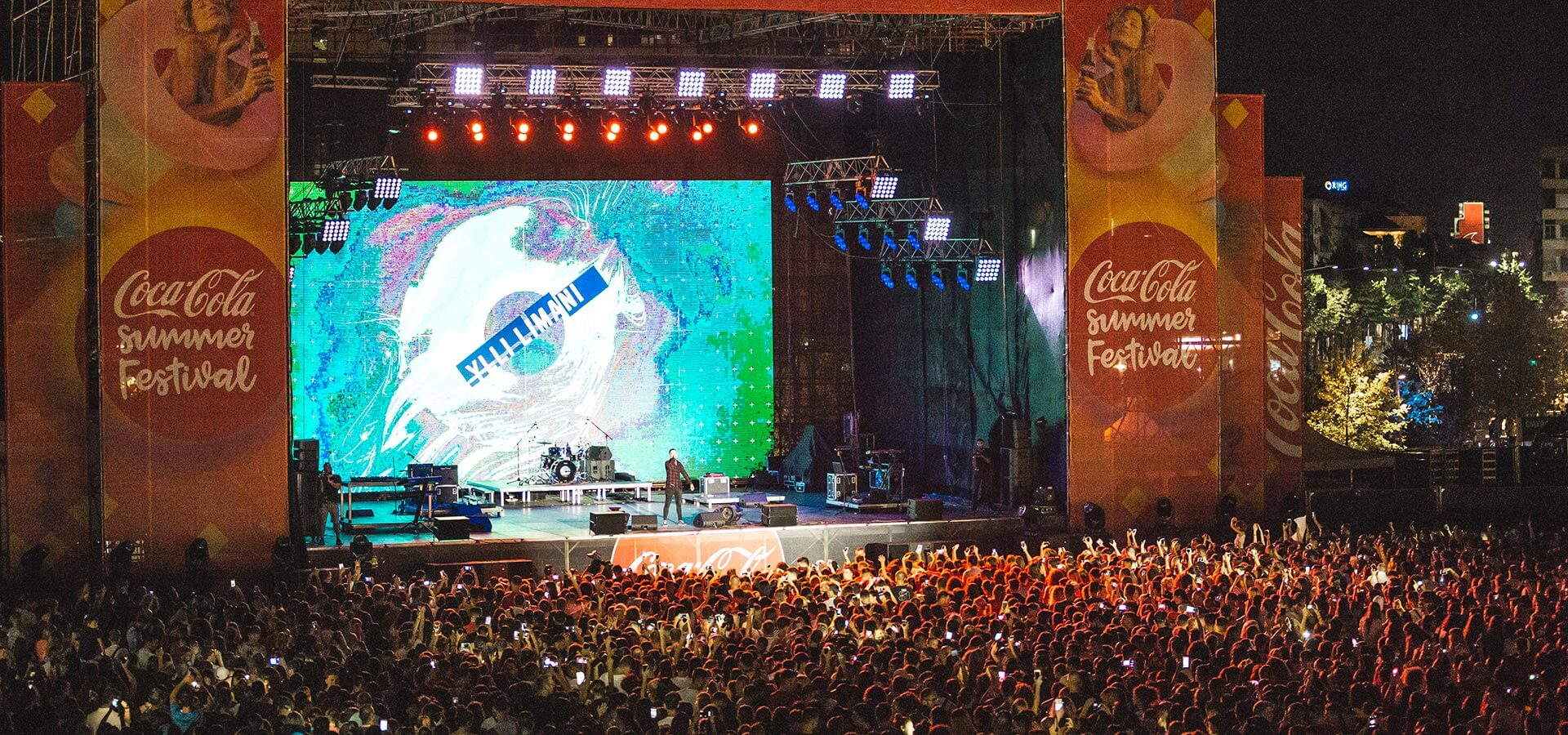Ylli Limani ne Coca-Cola Summer Fest 2018